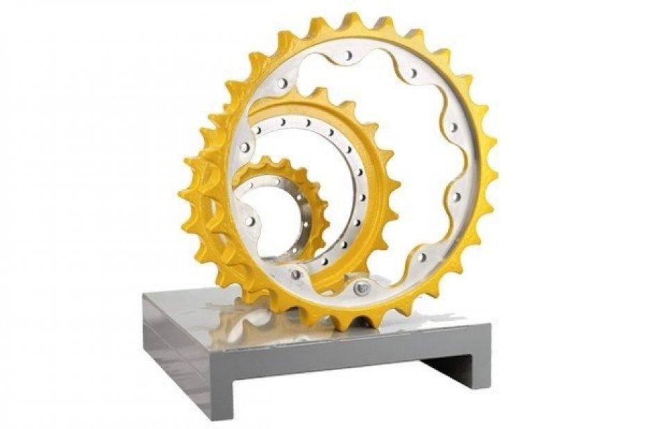 Caterpillar koło, Liebherr koło, Komatsu koło, Volvo koło