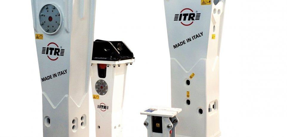 Młoty hyrauliczne ITR do maszyn catepillar cat komatsu volvo