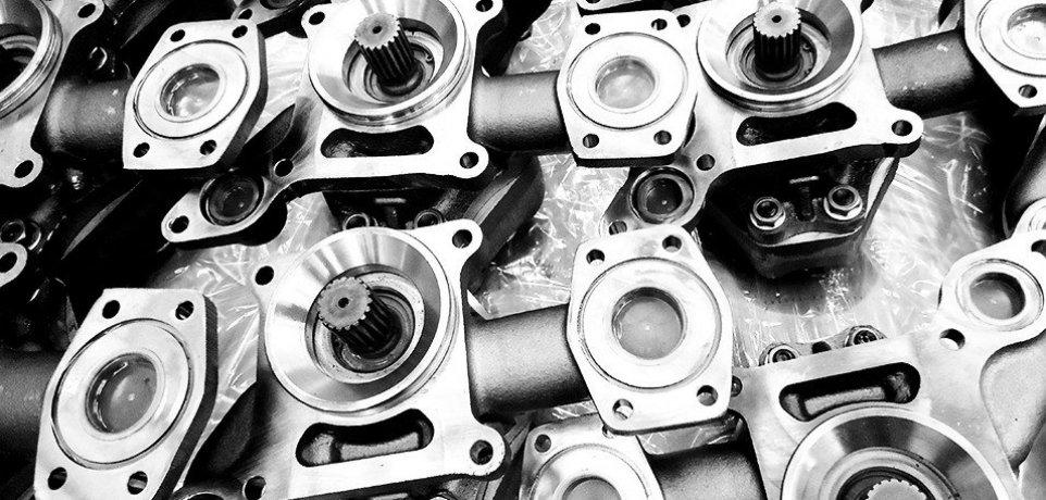 Części układu hydraulicznego do maszyn catepillar cat komatsu volvo