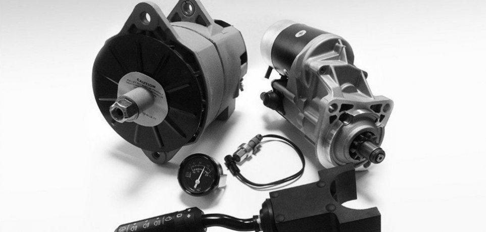 Alternatory rozruszniki oraz wszystkie części układu elektrycznego do maszyn catepillar cat komatsu volvo